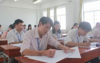Quy trình chấm thi chuẩn trắc nghiệm của Bộ GD$ĐT năm 2017