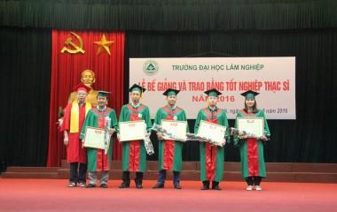 Thông báo tuyển sinh đào tạo trình độ thạc sĩ trường Đại học Lâm Nghiệp