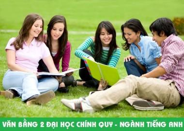 Tuyển sinh đại học hệ Văn bằng 2 Tiếng Anh